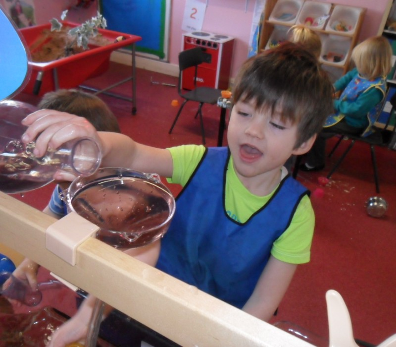 Messy play and learning science
