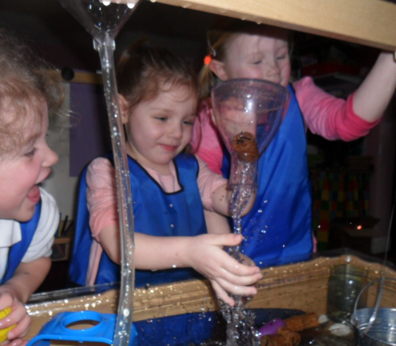 Science and water play